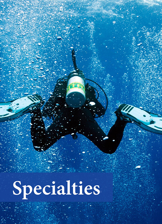 PADI Specialty Courses in Sri Lanka Deep diving, Wreck diving, Night diving, Nitrox diving and more.
